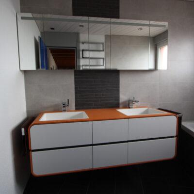Badmöbel mit Spiegelschrank 1336