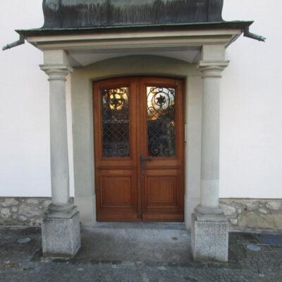 Haustüre 2-flüglig 18145