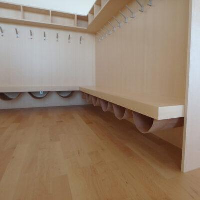 Kinder-Garderobe Ahorn 18180