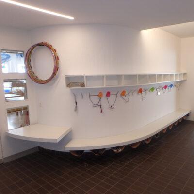 Kinder-Garderobe weiss 18180