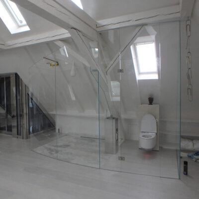 Dusch- und WC-Abschluss 1940