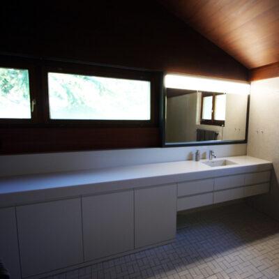 Badmöbel mit Spiegelschrank 3838